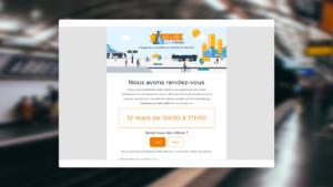 Capture d'écran présentant le site Actulab pensé pour les utilisateurs
